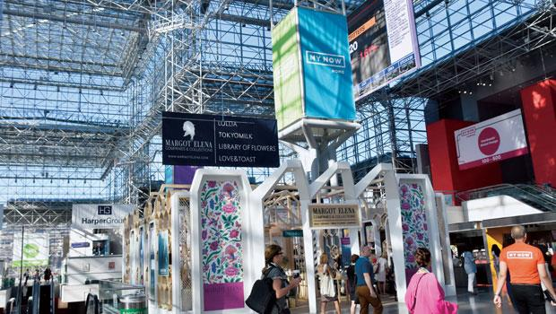 商展場地雅各賈維茲會展中心大有來頭, 由貝聿銘聯合建築師事務所設計,美東大展如紐約國際當代家具展(ICFF)也在此舉辦。