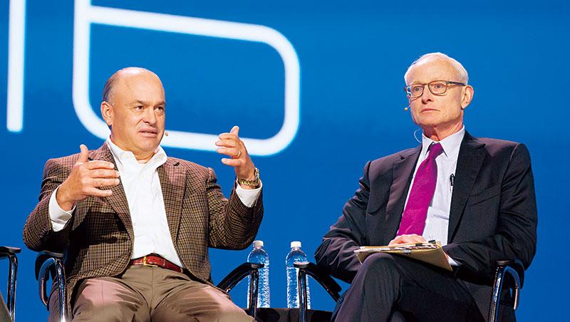 大師波特(右)加持下,赫普曼(左)領軍的參數科技迅速躋身一線物聯網大廠。