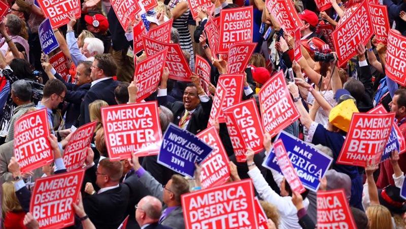 美國總統大選外電評論》彭博社:民粹把川普直接推進白宮