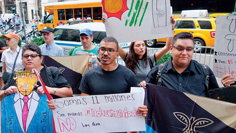 多數墨西哥移民反川普,但他卻被更多美國選民支持入主白宮,可見國內對立情緒只會有增無減。