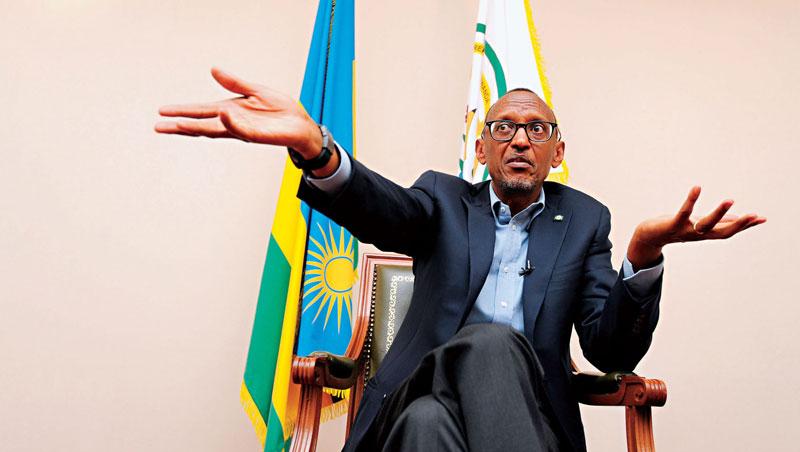 盧安達總統 卡加梅