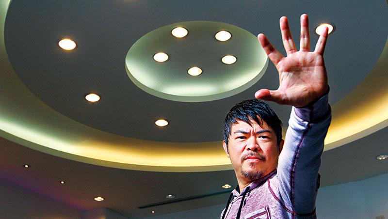 漫威影業視覺顧問、娛樂公司Storyus Entertainment 創辦人 溫崇信