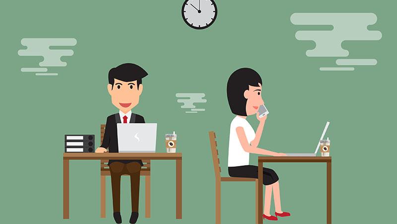 每天上班超過16小時、只吃一餐、公司還要她「共體時艱」領半薪...獵頭的3個良心建議