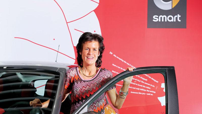 溫克勒最令人跌破眼鏡之舉,就是向公司高層爭取挽救銷量下滑的Smart汽車。