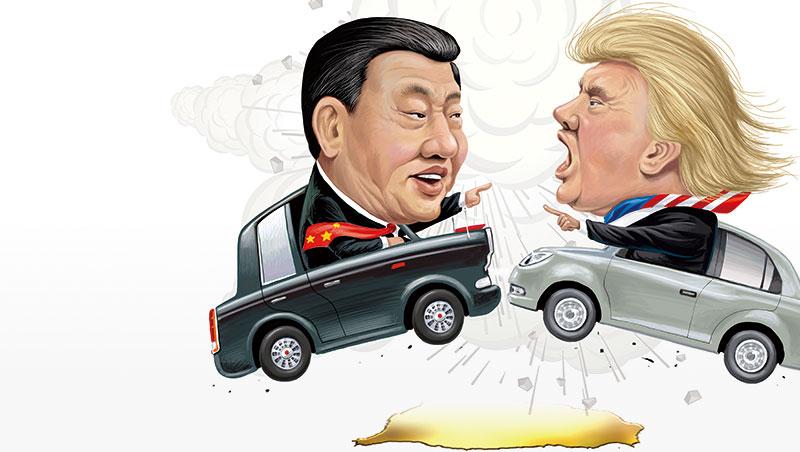 美中之間的貿易衝突,一九八年代至今,已經打了三十多年,過去發動攻擊的標的,大多在紡織、鋼鐵等行業,但這次可能引爆的大戰,對台灣的衝擊卻很不一樣。