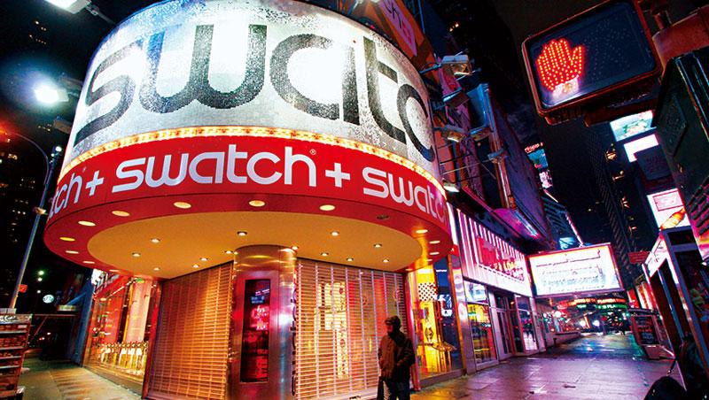 瑞士鐘表出貨金額在全球15個市場有13個負成長,Swatch的轉型壓力揮之不去。