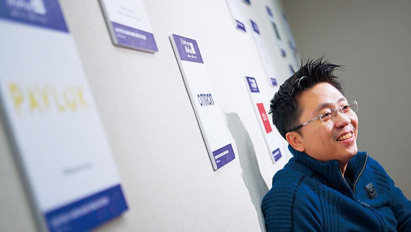 HWTrek創辦人王仁中,公司2013年創辦以來,平台已幫逾2000家供應商,逾1萬名客戶創造新機會。