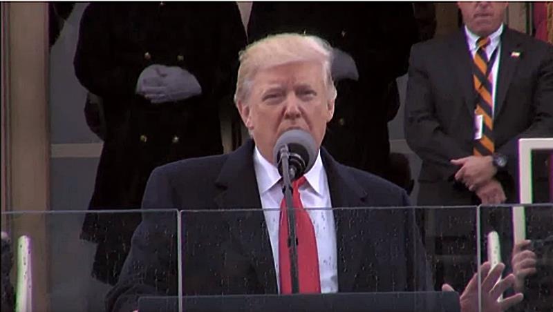 川普就職演說:政權今天從華盛頓的小菁英團體,還給人民了