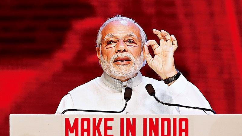 印度總理莫迪2014 年打著改革的旗號上台,但成效有限,在市場人士眼裡仍嫌太慢。