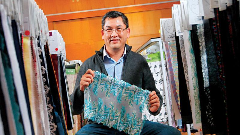 全球10 大內衣品牌刺繡最大供應商——嘉方實業 董事長陳勳毅