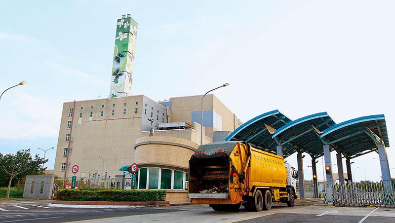即使無法回收的垃圾,經焚化產生的發電量也可供90萬家戶2015年一年用電。