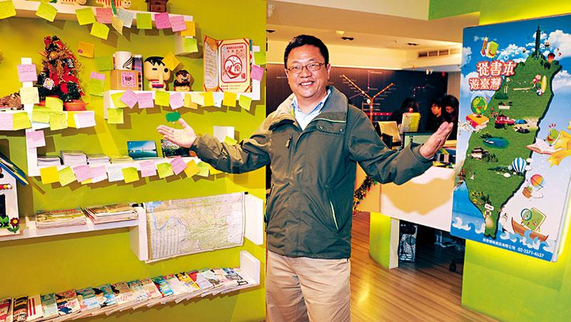 「我已經來台灣超過30 次了!」愛來台旅行的自在客創辦人張志杰,自己就住過逾百間台灣民宿。