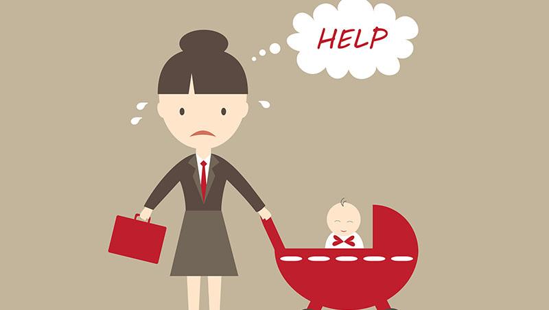「你可以接受加班嗎?」台灣媽媽的無奈:為什麼我不是跟老闆說對不起,就是跟小孩道歉 - 商業周刊