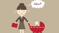 當媽前放假逛街下午茶,當媽後放假打掃帶小孩...說再多都是淚!女人變母親的13個寫照
