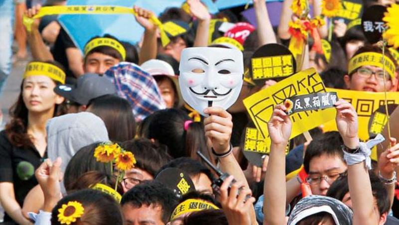 太陽花三周年》諷刺!台灣最大問題第一名還是「拚經濟」,兩岸監督條例根本沒半撇