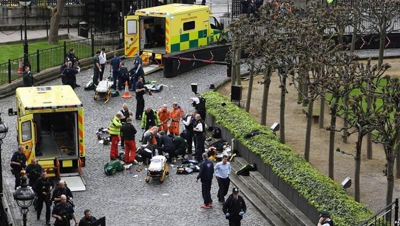 英國會恐怖攻擊釀5死40多人傷 凶嫌已遭擊斃