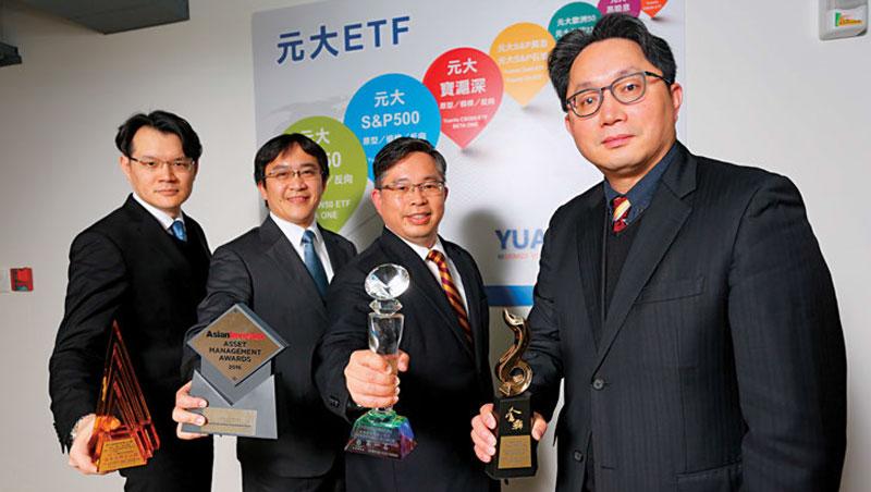 元大投信總經理劉宗聖(右)正領軍把台灣成功經驗輸往海外做「ETF 外交」。