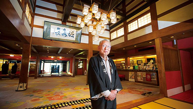 掌門:法師善五郎(46代),金氏世界紀錄曾認定為世上最古老飯店