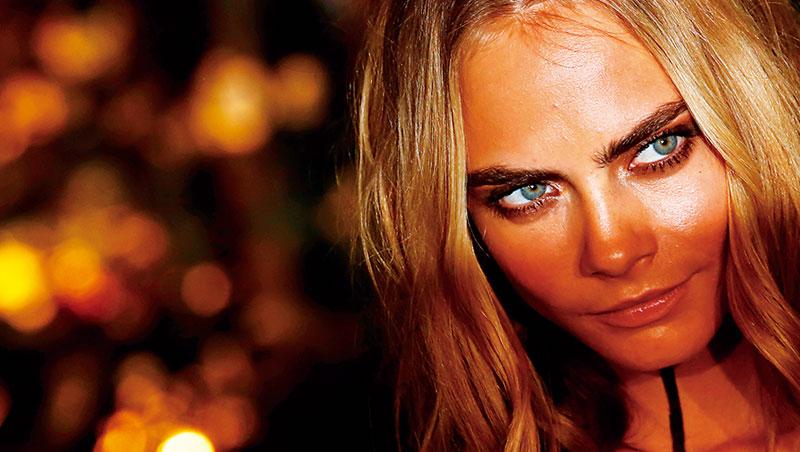 卡拉的「粗眉超模」封號吸引美妝新創品牌奇蹟眉搭便車, 手機自拍風潮也是另一道推力。