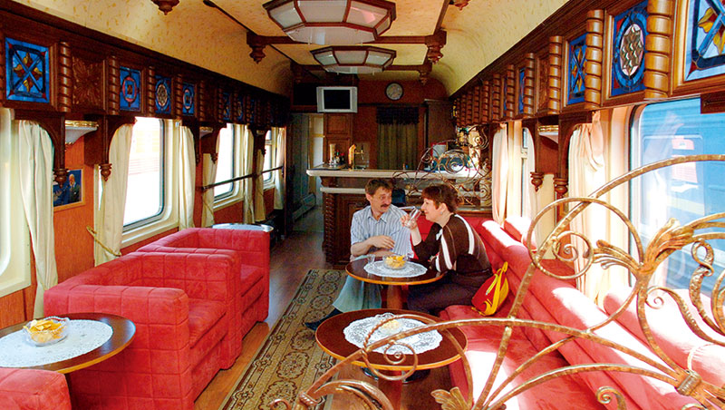 由英國GW Trains公司經營的金鷹列車。
