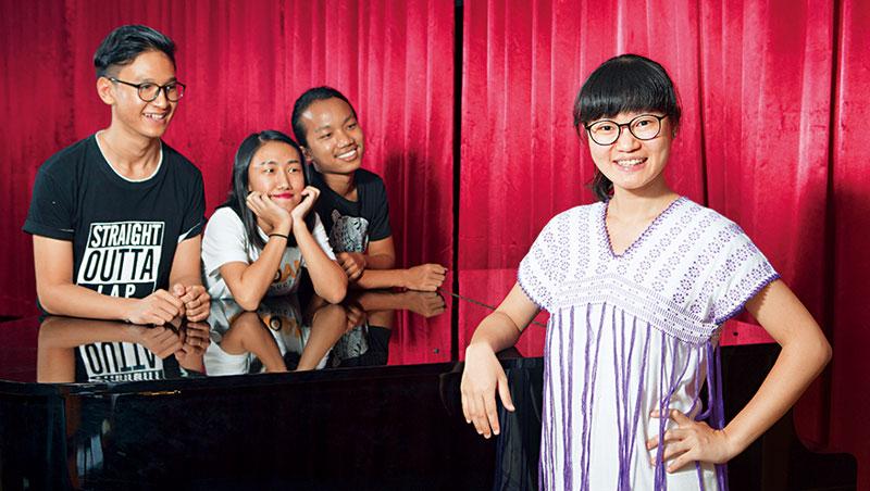 29歲音樂碩士赴仰光  翻身國際級講師