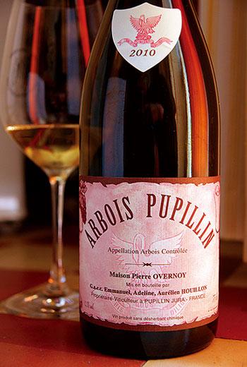 普皮蘭村因酒風獨特,所產的葡萄酒可特別標示為「Arbois-Pupillin」。