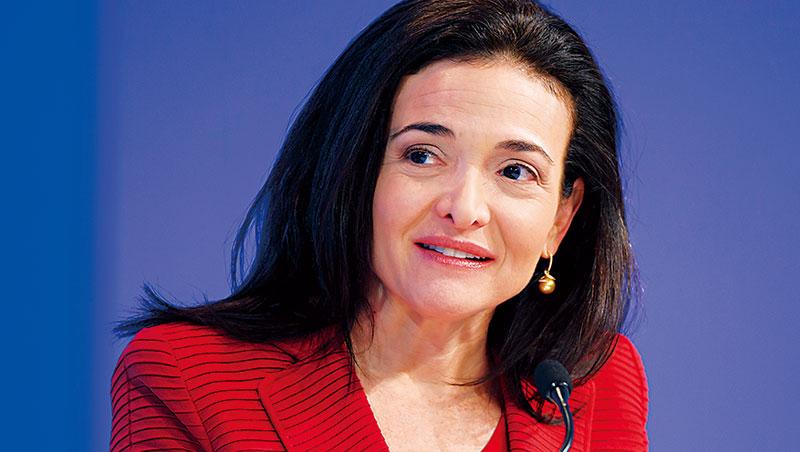 臉書營運長桑柏格(Sheryl Sandberg)