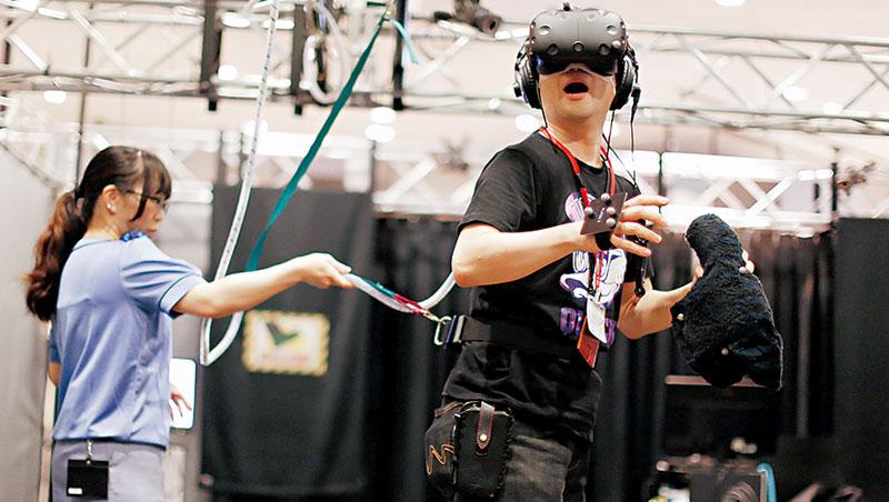 宏達電致力VR應用,還在日本合作成立第一個VR樂園。
