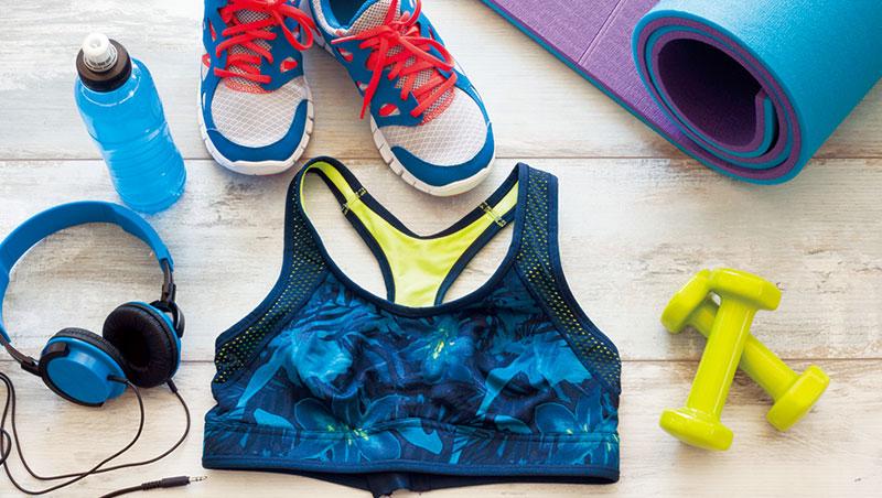 運動休閒風帶動運動鞋和機能性服飾概念股,如今,未完全普及的運動內衣也被關注。