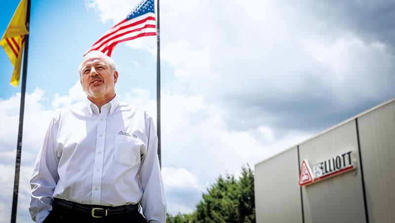 台資企業復盛旗下公司執行長布朗在匹茲堡待了20多年,靠賓州的人才轉型先進製造,從小工廠變全球第3大。