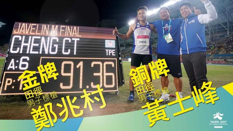 世大運中華隊突破17金》運動員破紀錄不要只會