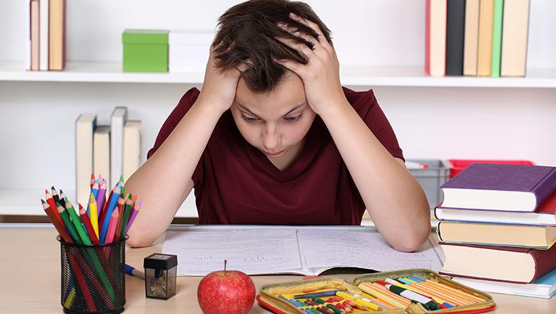 為了考全班第一名,他拔光自己的頭髮...爸媽震驚:考差了不曾打罵,為什麼還有壓力?