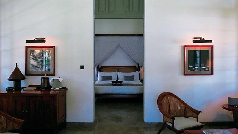 入住獨立屋舍,空間寬闊而舒適。