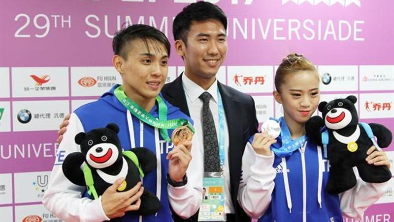 世大運》中華隊首日1銀2銅 獎牌榜暫居15