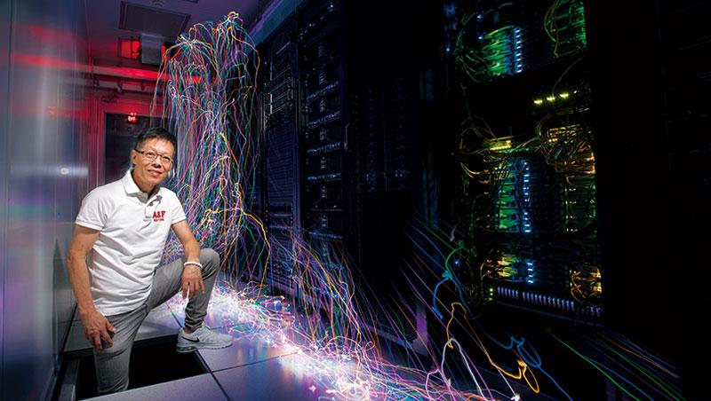 楊晴華是廣達的雲端戰將,當年從筆電部門跳進「冷衙門」,如今催生該公司自有品牌雲達。