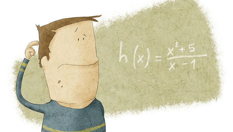 上課恍神後,後面就聽不懂了...從不及格到不放棄,讓他從「數學很爛」到「成為數學老師」