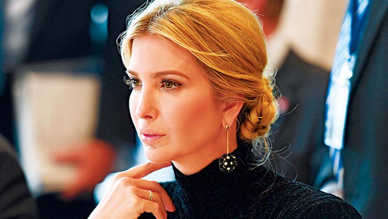 2007年自創時尚品牌Ivanka Trump、美國總統助理 伊凡卡