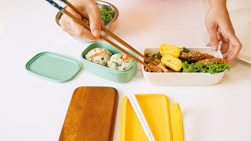 就算是料理新手,跟著老師的步驟,就能完成色香味俱全的日式便當。