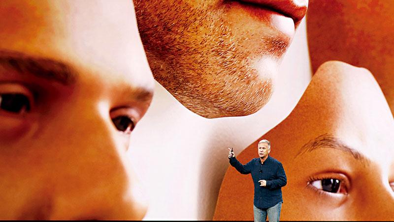 今年蘋果發表會,人臉辨識是iPhone X強打賣點,奇景正是幕後技術推手。