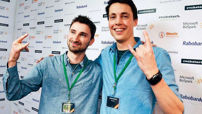 創辦人布蘭(左)把3D列印的產業瓶頸、產品缺陷數據化,成為撈出機會的關鍵。