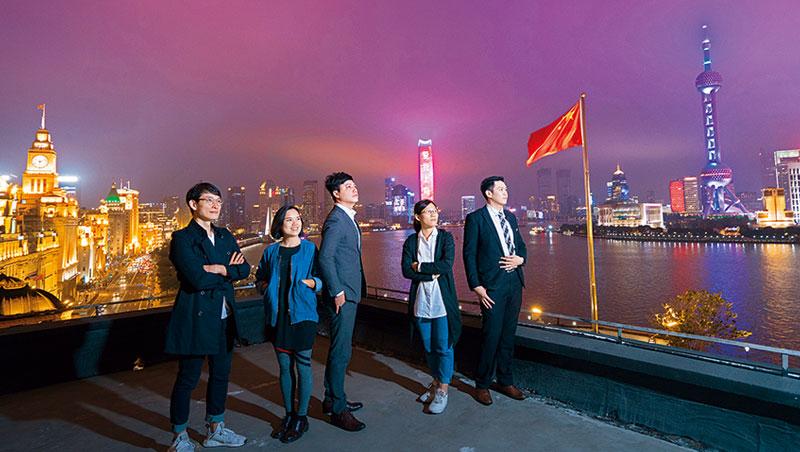 「外灘第一樓」來自台灣的餐飲人才(圖)提醒,中國市場大、誘惑多,別為短利錯失累積實力的時機。