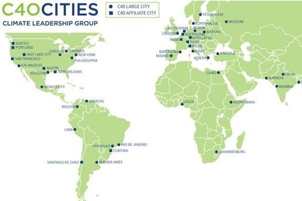 以城市為主體 C40推動智慧交通 創新綠色經濟