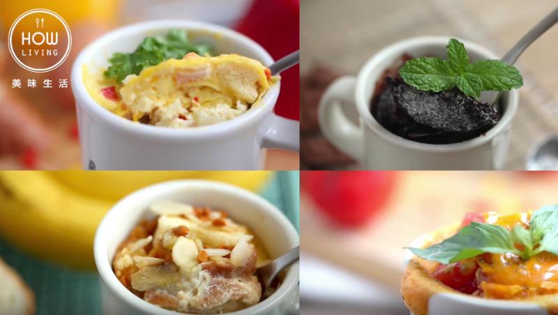 零失敗料理!只要「一個馬克杯」,微波爐做出起司燉飯、熔岩蛋糕、鮭魚烘蛋