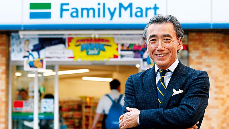 日本全家社長澤田貴司自認,衝勁、耐力是他的專長,而且「只要能讓20萬名社員跟店員開心,我什麼都肯做。」