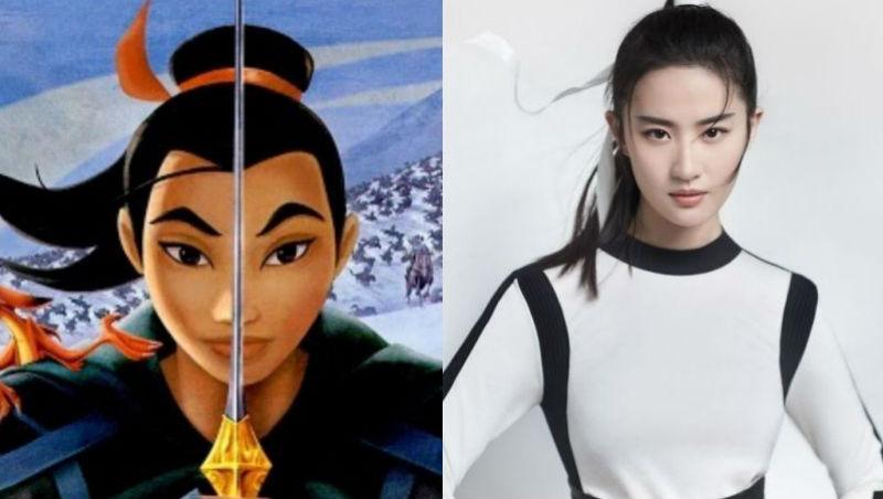 劉亦菲演真人版電影《花木蘭》!回顧劉亦菲出道經典裝扮,為何能讓迪士尼挑中她