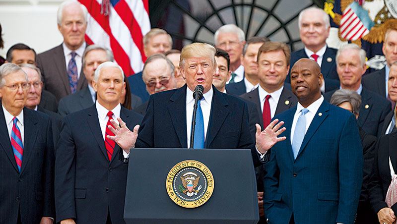 「你們全會變更有錢!」美國總統川普對稅改如是說,未來國際減稅大戰將不可免。