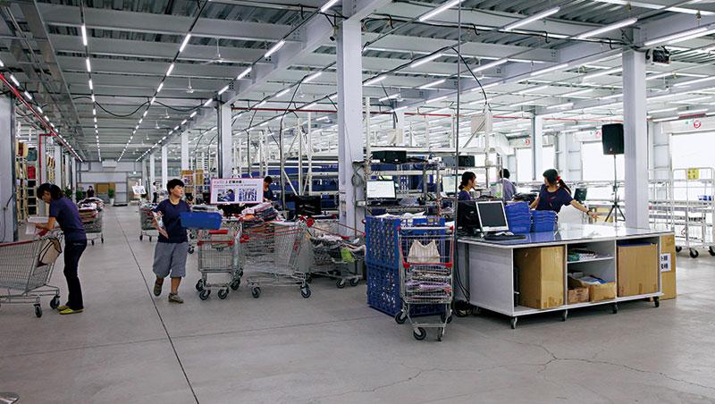東京著衣將物流部門獨立,發展第三方物流業務