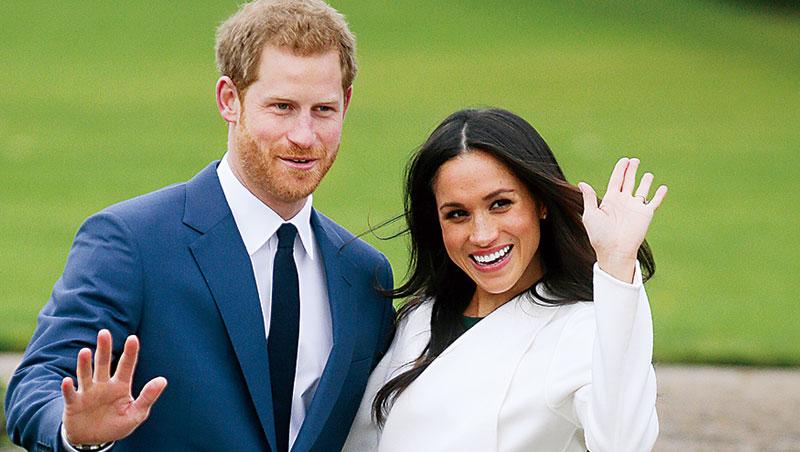 哈利王子(左)偶爾會被英國媒體說是逃避自己該盡的義務,但準王子妃瑪可(右)卻很習慣對著鏡頭發聲。