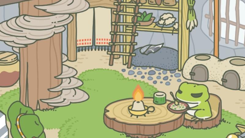 療癒系遊戲「旅蛙」爆紅!心理師分析4大原因:想到戀愛、結婚、生子就累...不如養蛙