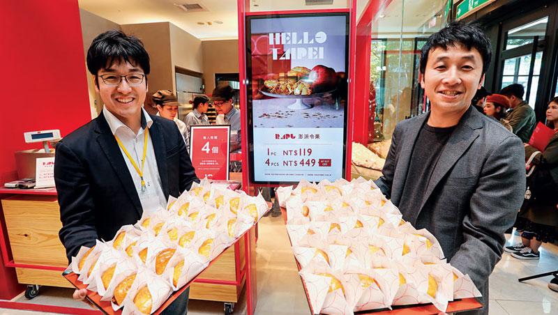 Bake總裁 西尾修平(右)、台灣執行長 印牧正貴(左)